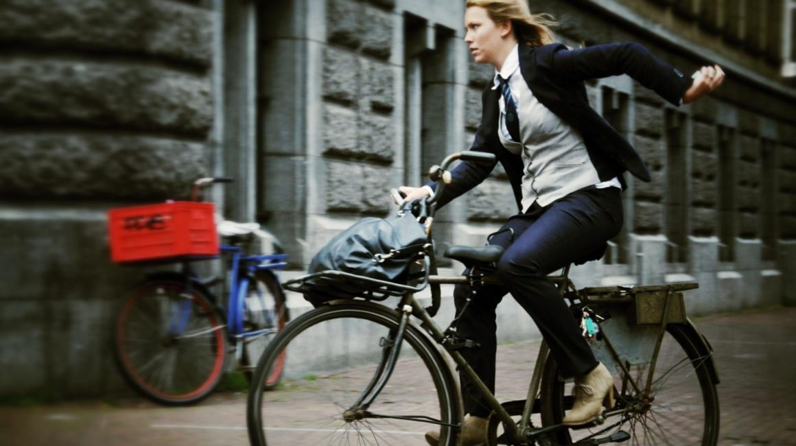cycling to work amsterdam