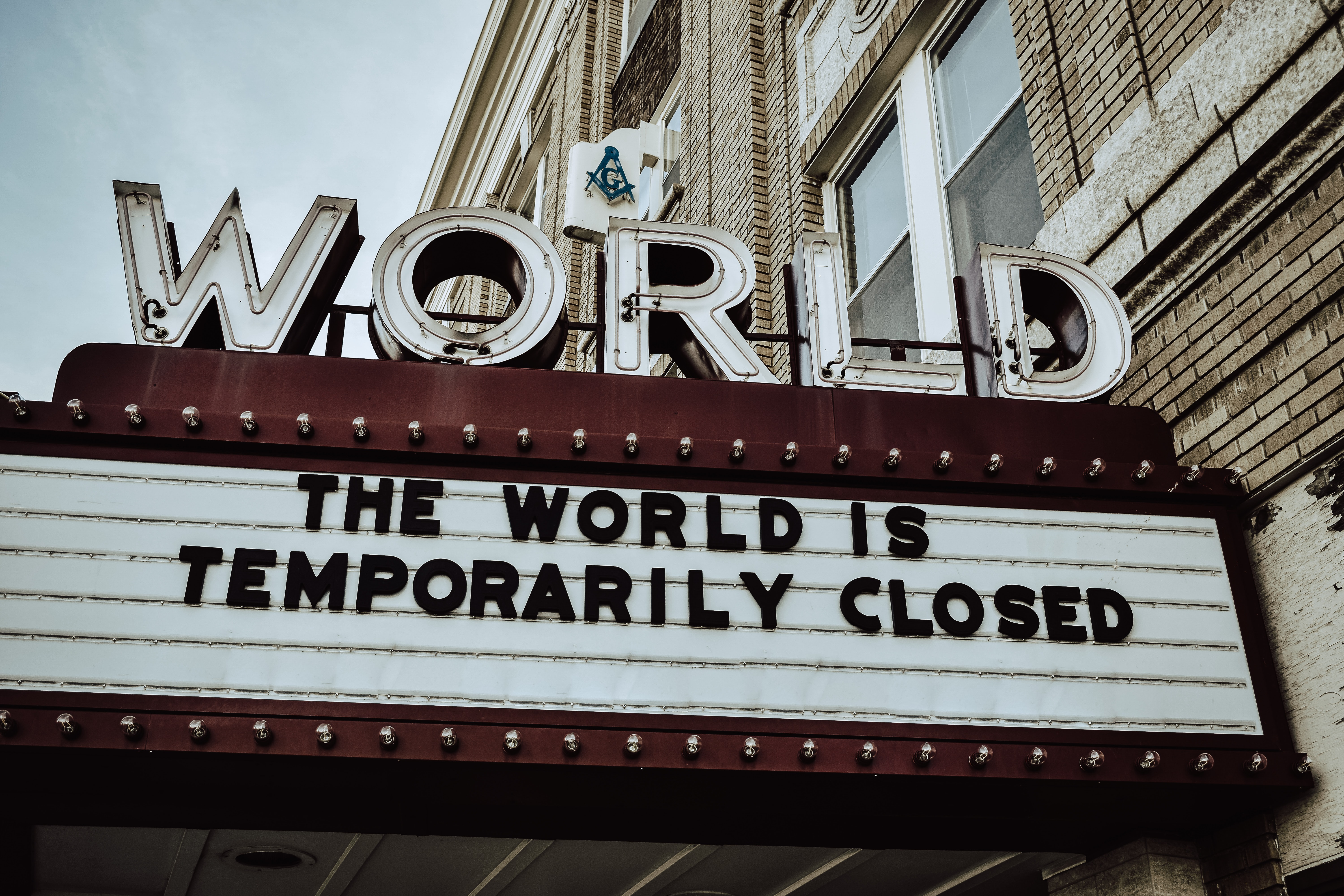 the world is closed Photo by Edwin Hooper on Unsplash