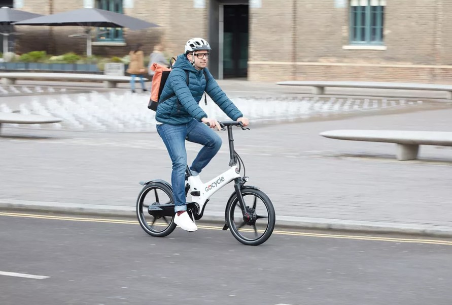 Gocycle's e-bikes are being offered as part of the plan. Image: Gocycle