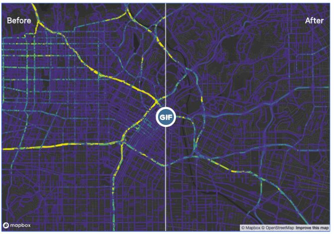 Mapbox screenshot GIF_ Peter Aldhous/BuzzFeed News, Lo Bénichou/Mapbox, Mapbox Telemetry Team