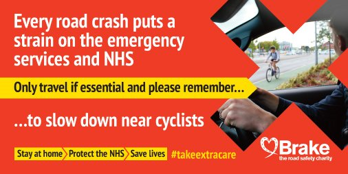 We should all do our best to #StayHome but if you need to get on your bike for an essential journey, drive slowly and always wear protective gear. #takeextracare #RoadSafety @MCIATweets @MAGUKCentral